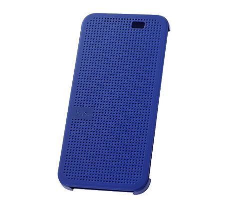 【HTC原廠】FOR E8 & M8ACE 炫彩顯示保護套-藍色