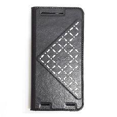 極簡袖珍側翻皮套~HTC One M9 Plus 黑色 ~Hoobbe~口香糖 立架~綠粉