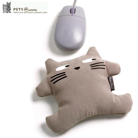【KamKam】貓-滑鼠護腕 +【Disney】Marie瑪麗貓收納套(白)