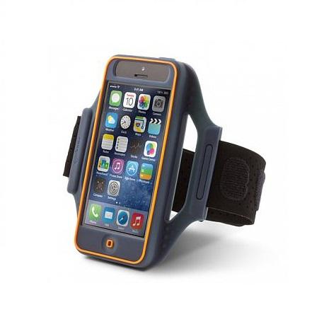 Bone iPhone 5/s/5c/SE 穿戴式保護套 黑藍