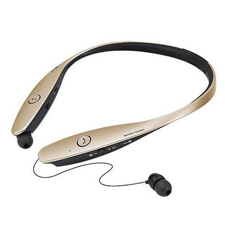 【拆封新品】【LG原廠】LG TONE INFINIM 頂級藍牙立體聲耳機(金) HBS-900 GOLD-3C電腦週邊-myfone購物