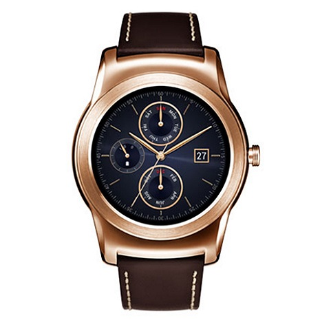【拆封福利品 九成新】【LG原廠】LG Watch Urbane W150 智慧手錶 金色