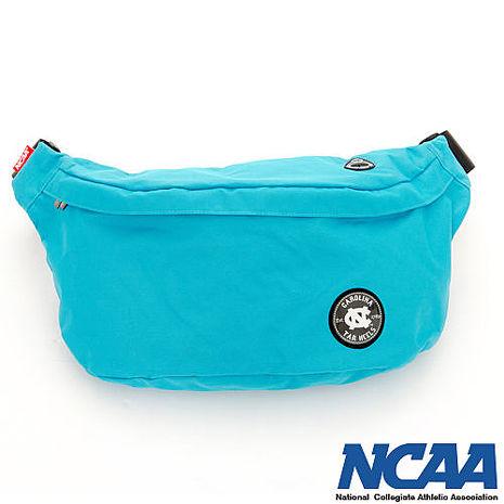 NCAA 踏浪側背包 北卡徽章 曬幸福隨身側背包_湖藍色