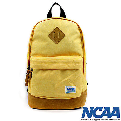 NCAA 後背包 豬鼻系小豬帆布後背包 黃色