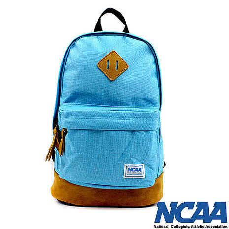 NCAA 後背包 豬鼻系小豬帆布後背包 湖藍色