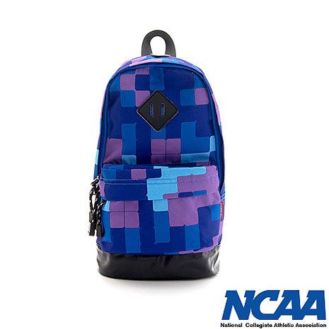 NCAA 單肩後背包 妝點星空 豬鼻系輕量尼龍單肩後背包_藍色