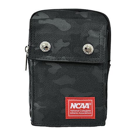 NCAA迷彩藍側背/腰掛兩用小包_黑色