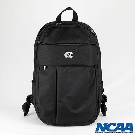 NCAA 北卡金屬標耐用筆電後背包_黑色-服飾‧鞋包‧內著‧手錶-myfone購物