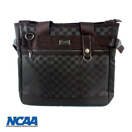 NCAA 時尚格子手提/側背兩用包 三色可選