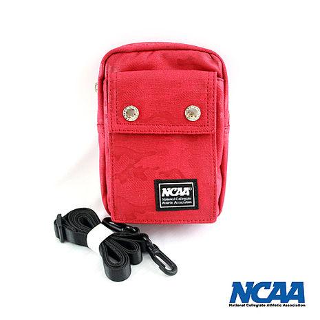 NCAA迷彩藍側背/腰掛兩用小包_紅色