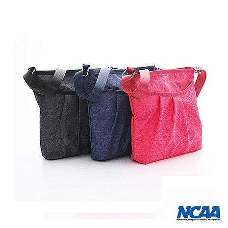 NCAA前打褶口袋側背包_共三色