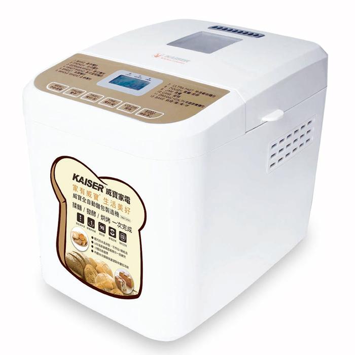 【威寶家電】KAISER 威寶全自動麵包製造機 (BM1209)-家電.影音-myfone購物