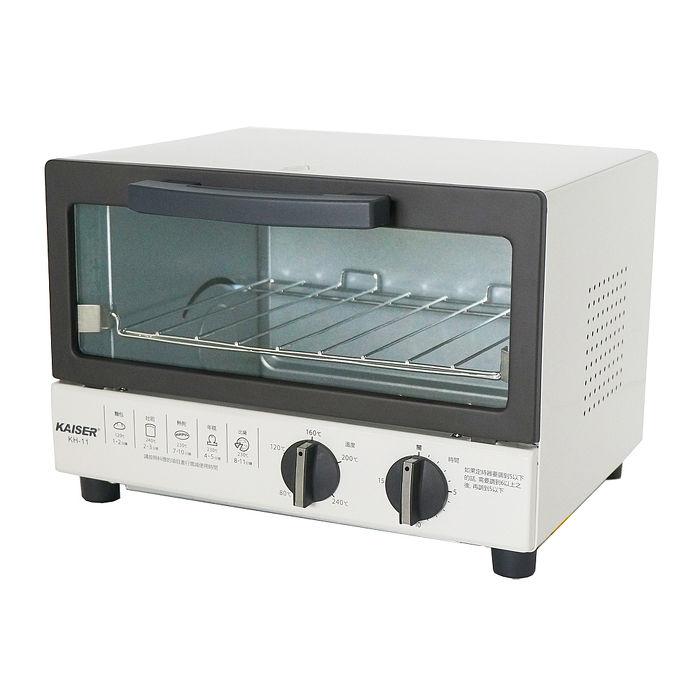 【威寶家電】KAISER 威寶日系麻吉小烤箱 KH-11