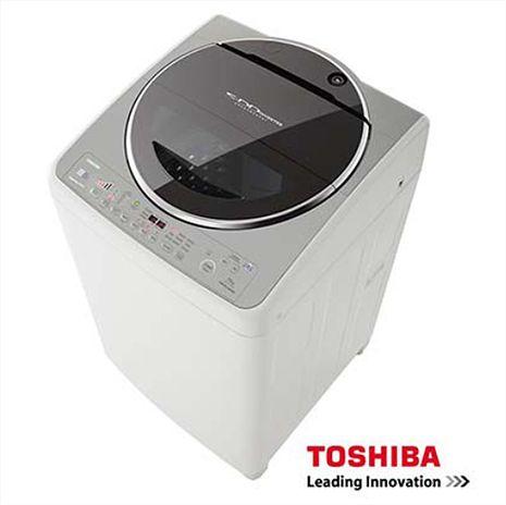 【TOSHIBA東芝】15公斤星鑽不銹鋼SDD變頻洗衣機AW-DC15WAG