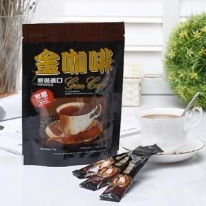【啡茶不可】低卡無加糖二合一金咖啡 (10條入)-戶外.婦幼.食品保健-myfone購物