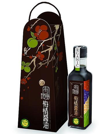 【甲仙農會】有機梅精醬油 (210ml)
