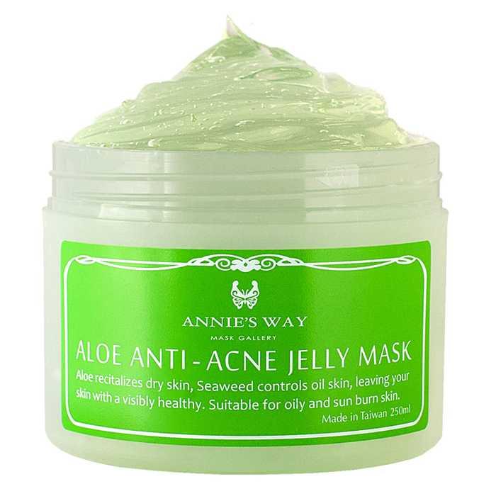 【安妮絲薇Annies Way】蘆薈+海藻控油果凍面膜 (250ml)
