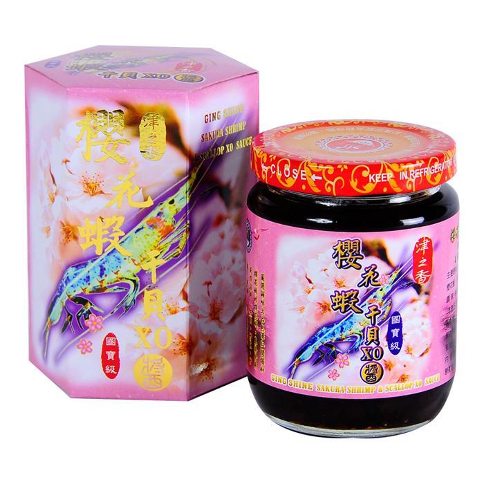 【津之香】櫻花蝦干貝XO醬 (220g/瓶)