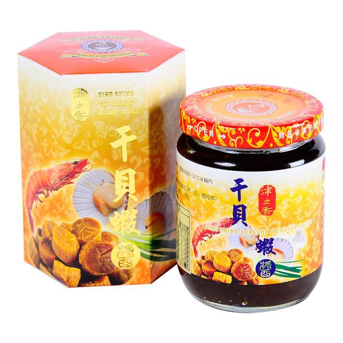 【津之香】干貝蝦醬 (220g/瓶)