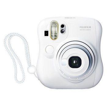 FUJIFILM Instax mini 25 拍立得相機白色(公司貨)-送卡通底片+相本
