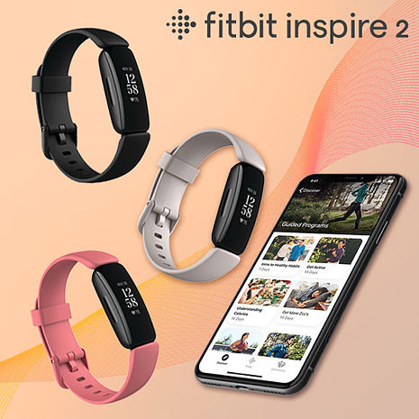 Fitbit Inspire 2 健康智慧手環 運動手環 防水 台灣群光公司貨