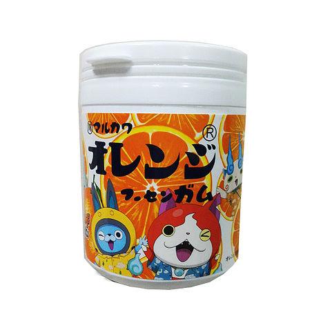 日本丸川 妖怪手錶橘子味口香糖  一罐入