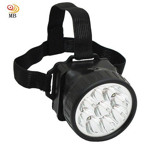月陽頭戴式12LED超白光高亮度頭燈工作燈(5681)