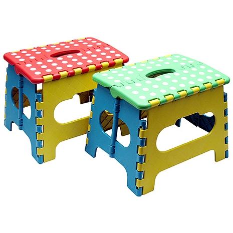 色彩繽紛小摺疊椅2入超值組(SR-166X2)