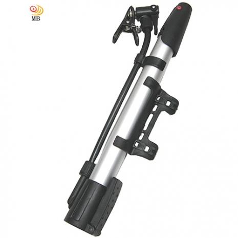 月陽自行車鋁合金迷你立式攜帶型打氣筒打氣機(SC-JC314)