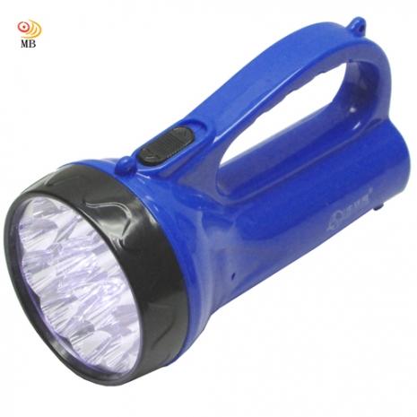 月陽15LED充電式手提探照燈手電筒露營燈(NM-1519)
