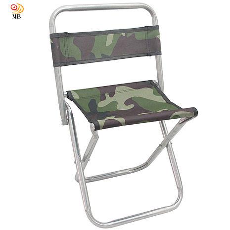 月陽迷彩版高48cm背靠式折疊椅休閒椅馬扎折疊凳(U48B)
