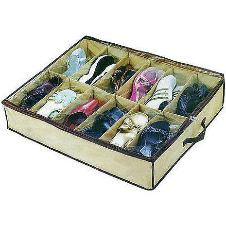 TV熱銷收納高手12雙鞋子收納整理盒超值2入組(A2151X2)