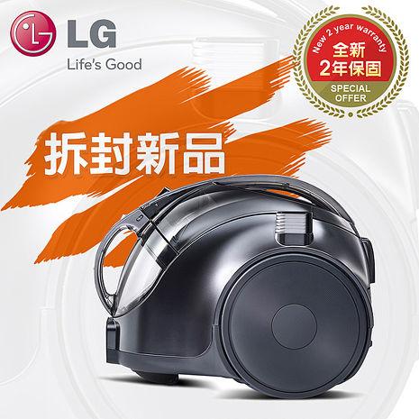 拆箱新品★2年保固【LG樂金】圓筒式變頻無線吸塵器/質感銀(VC74070NCAQ)