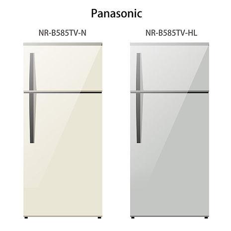 【Panasonic.國際牌】579L變頻雙門電冰箱/珍珠銀(NR-B585TV)