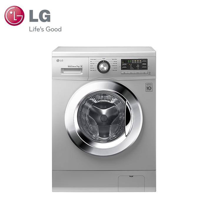 【LG樂金】7kg DD直驅變頻滾筒洗衣機 / 精緻銀 (WD-70MGS)★贈德國alfi保溫壺(市價$1100)(夜殺)