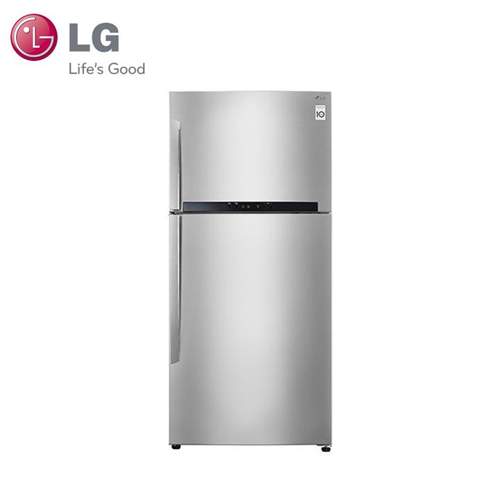 【LG樂金】Smart 525L 變頻上下門冰箱 / 精緻銀 (GN-B560SV)