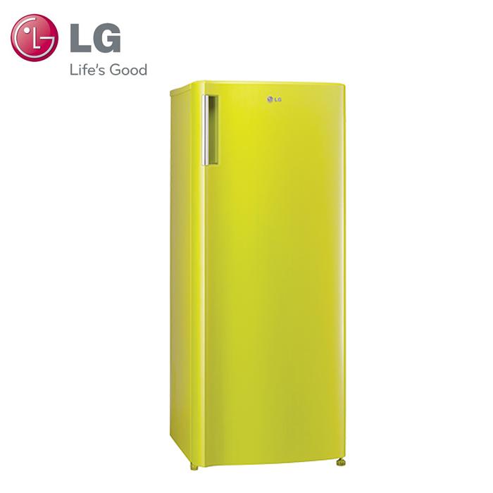 【LG 樂金】Smart 191L 變頻單門冰箱 / 萊姆綠(GN-Y200L)