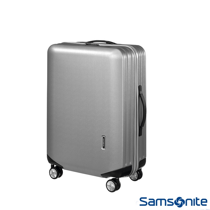 Samsonite新秀麗20吋 Inova T型拉桿TSA輕量硬殼登機箱(銀)