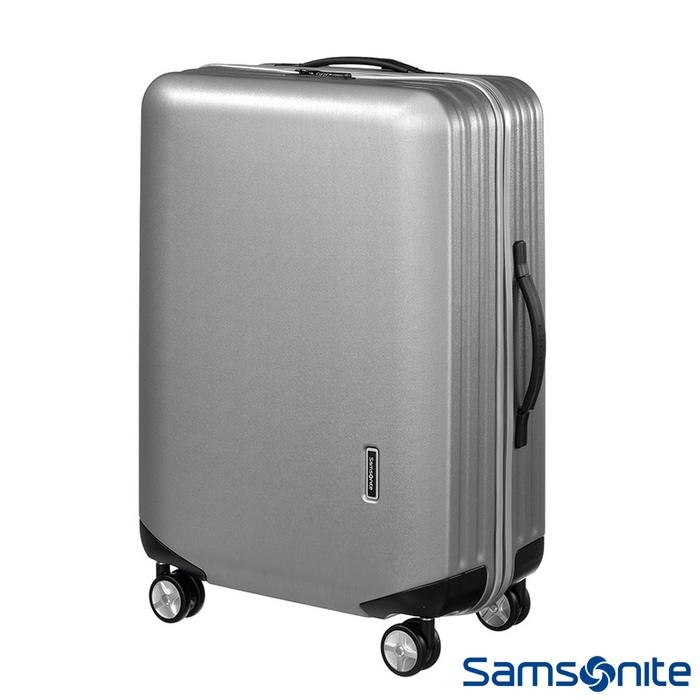Samsonite新秀麗28吋 Inova T型拉桿TSA輕量硬殼行李箱(銀)