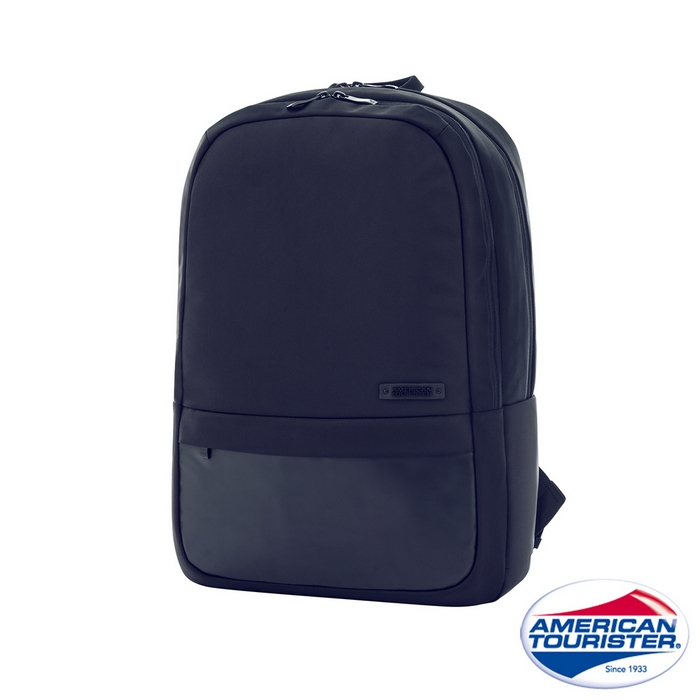 AT美國旅行者 Scholar簡約都會筆電後背包I 15.6吋(海軍藍)