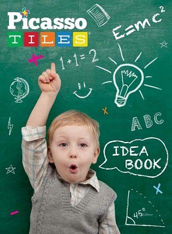 美國畢卡索Picasso Tiles PT-Idea book 創意構想書 - 超過90種積木創意組合