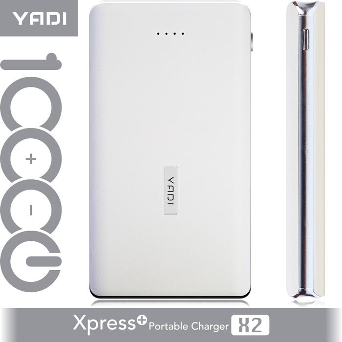 YADI Xpress+移動電源 10000-雲朵白