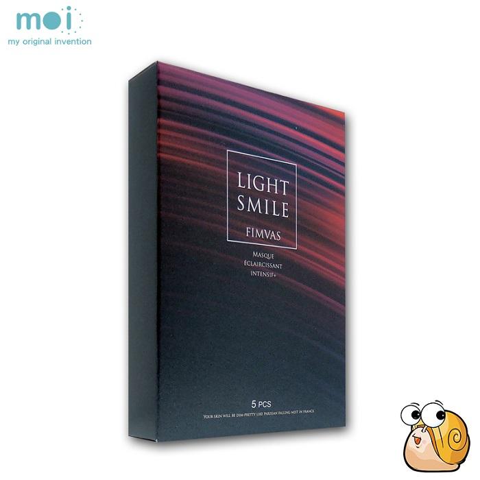 【Light Smile】蝸牛精萃修護面膜(盒/5片)