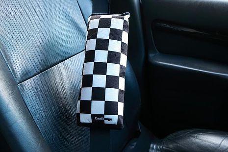 格紋賽車風安全帶護套-相機.消費電子.汽機車-myfone購物