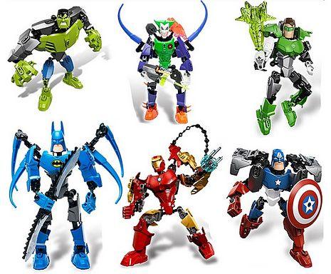 【海夫健康生活館】正品得高 Decool 兒童組合玩具 復仇者聯盟 超級英雄 公仔綠巨人