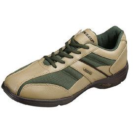 【海夫健康生活館】日本登錄普 (DUNLOP) 紳士輕便健走鞋(咖啡棕、草綠)顏色:草綠;尺寸:27