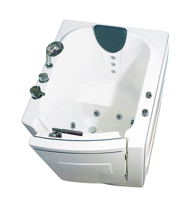 【海夫健康生活館】開門式浴缸 內開式 101-A 基本款 (95*85*100cm)