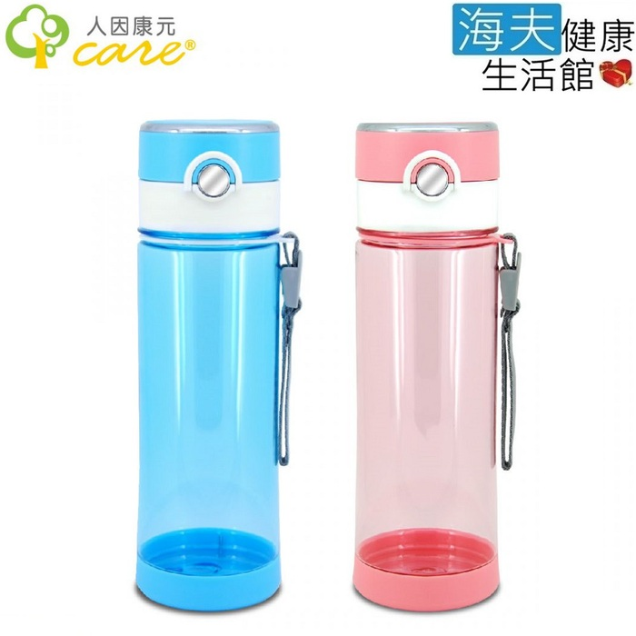 【人因康元x海夫】新負離子 能量 冷熱水壺 680ml TT6802水晶藍