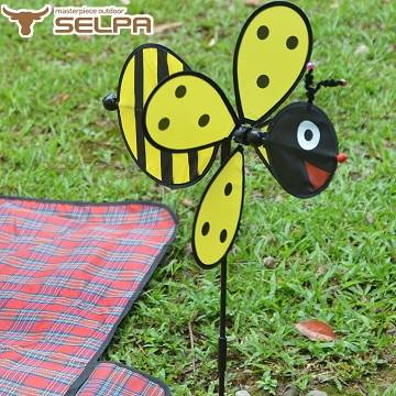 【韓國SELPA】繽紛飾品-蜂蜜風車