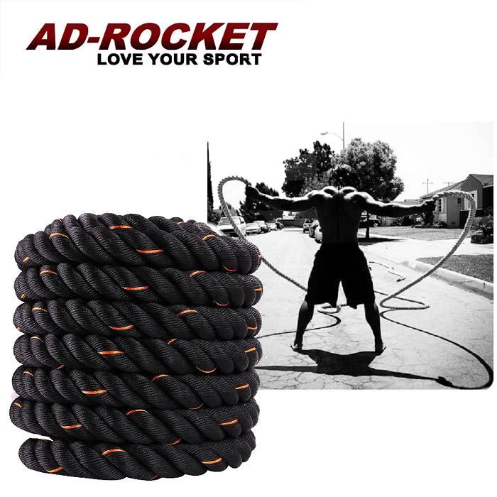 【AD-ROCKET】UFC專業級格鬥繩厚度38mm/戰繩/戰鬥繩9M一般型